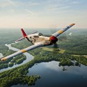 CAF Red Tail Squadron P-51C Mustang Tuskegee Airmen
