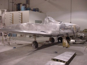 Undergoing restoration