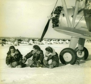 """Blondie"" at Avenger Field (Courtesy Texas Women's College)"