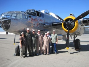 "Liberty Aviation Museum flight crew delivered ""Martha Jean"" delivered to Aero Trader in October 2011."
