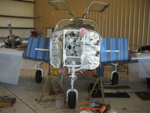 New Tank Skins and Refurbished Engine/Nosewheel Structure