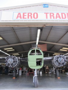 Liberty Aviation Museum's B-25 was taken apart by Aero Trader for winter maintenance annual and extensive refurbishment