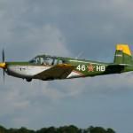 IAR 823 in flight