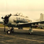 SKYDOC'S T28 WITH SIX PYLONS, BOMBS AND ROCKETS