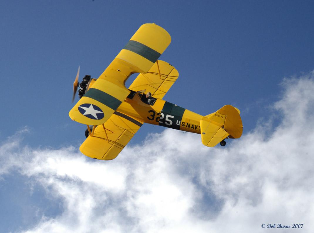 Old Bob's Stearman | EAA Warbirds QR Code Website