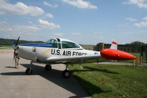 On static display at a Cincinnati Warbirds event at Lunken Airport