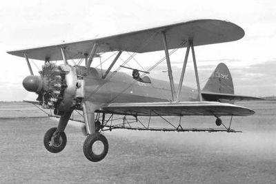 Boeing Pt 17 N2s 2 Serial No 42 16396 Eaa Warbirds Qr