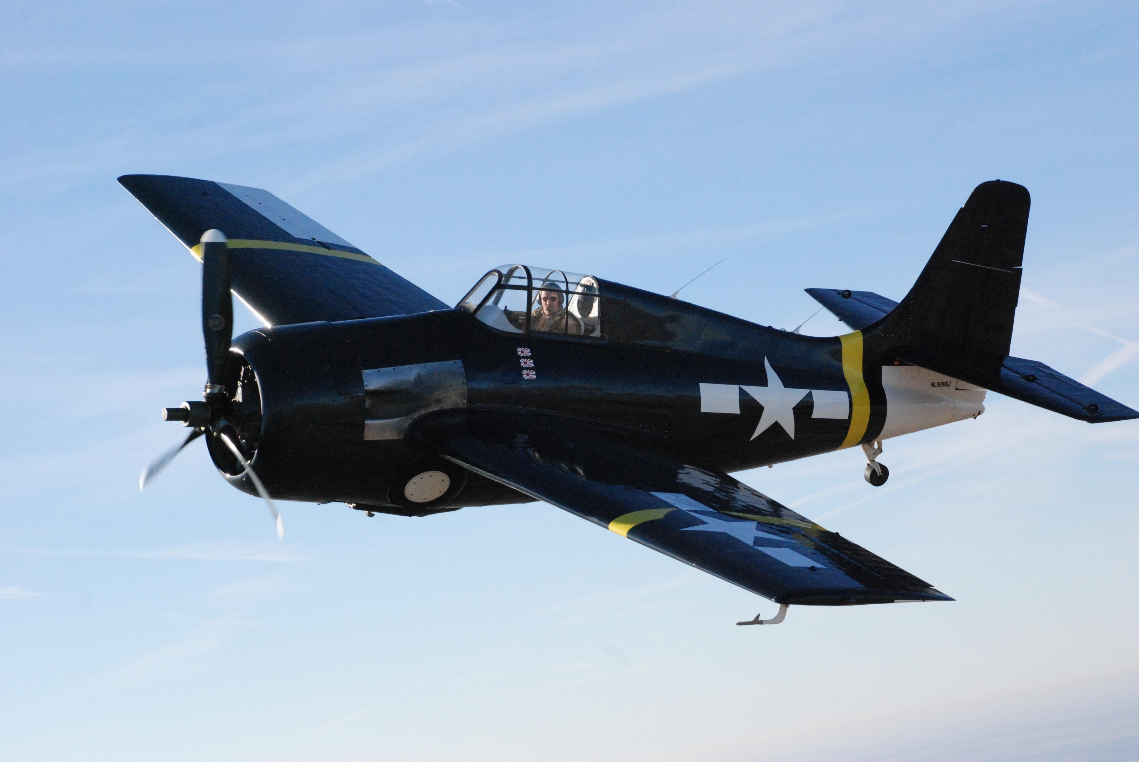 Fm 2 Wildcat Eaa Warbirds Qr Code Website