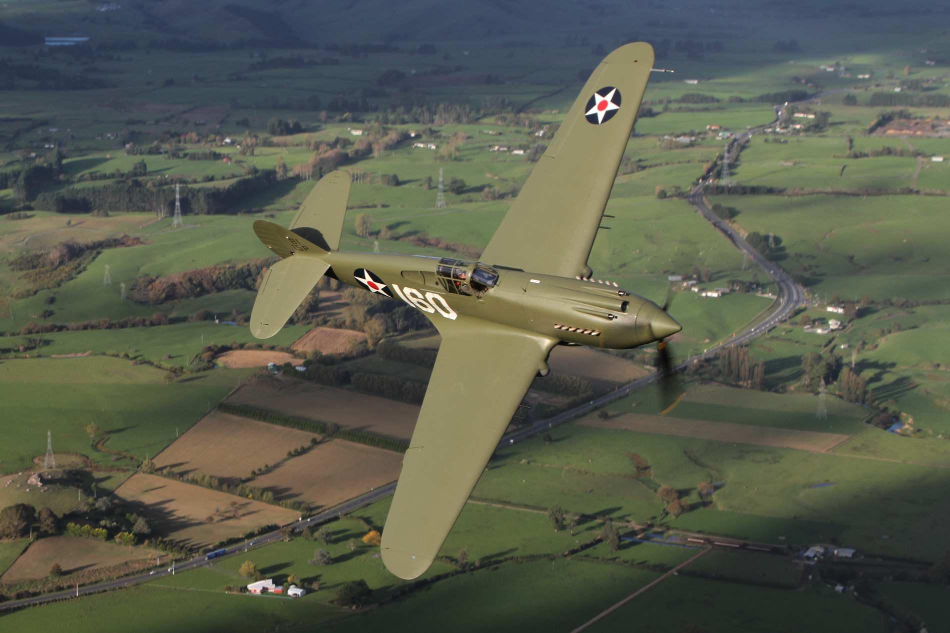 Lewis Air Legends Curtiss P 40c Tomahawk Eaa Warbirds Qr