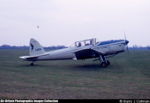 WD288 again, in 1963, when operated by the London Flying School.  (c) B.J. Collman