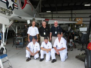 Skyhawk Ventures Team  Top  Larry Elmore, Porter Spangler, Dan Carr   B Tom Riggi, Phil Ricker Dave Brown
