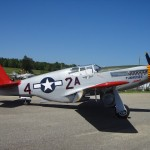 Red-tailed P-51C Mustang in Tuskegee, AL 2011