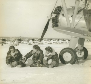 Avenger Field Sweetwater, TX winter of 1943 ( This aircraft can be seen in the photo with #12 on it)