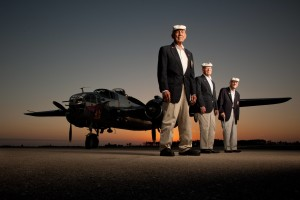 Panchito with surviving Doolittle Raiders, 2011 (Robert Seale)