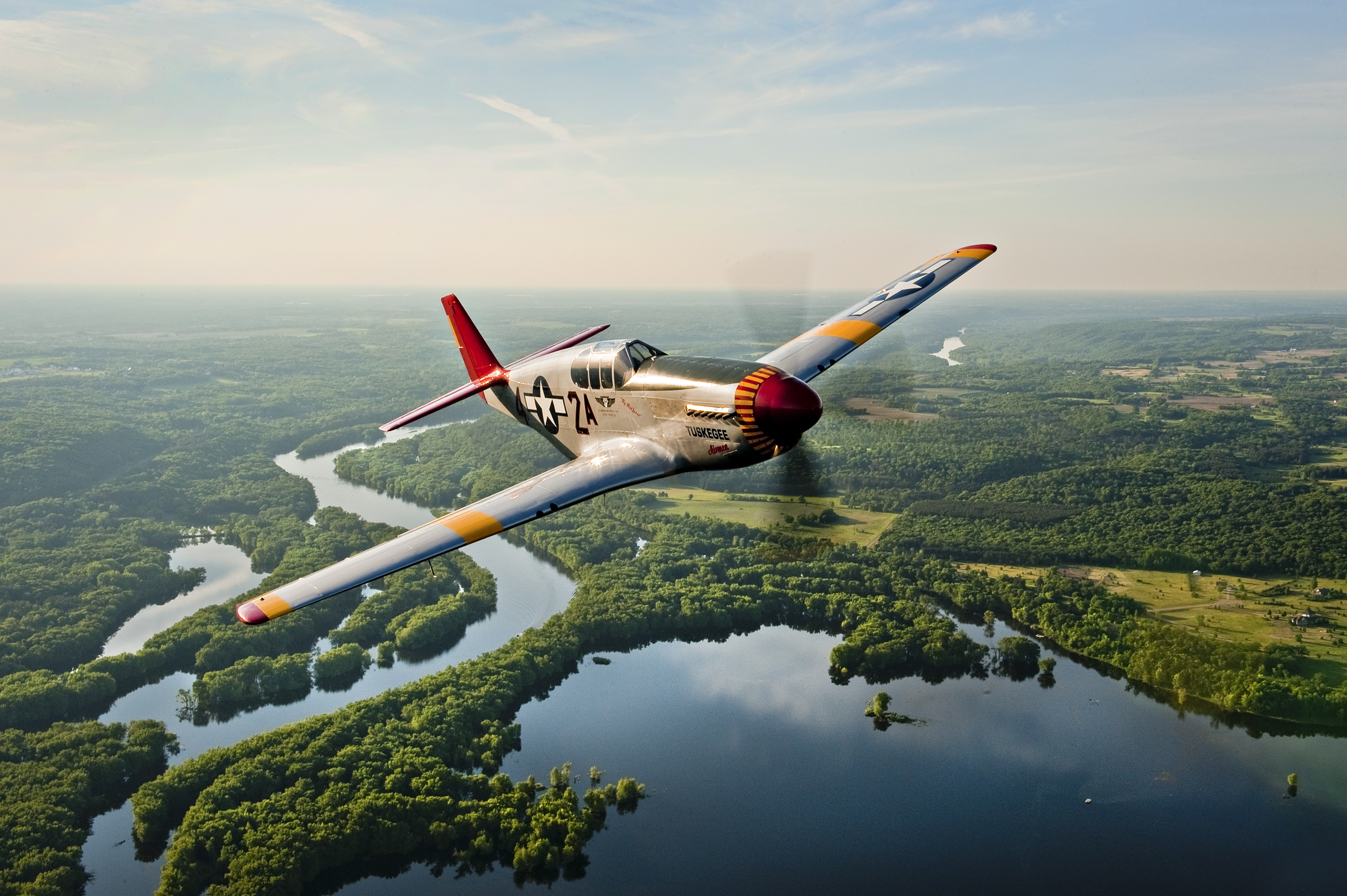 CAF Red Tail Squadron's P-51C
