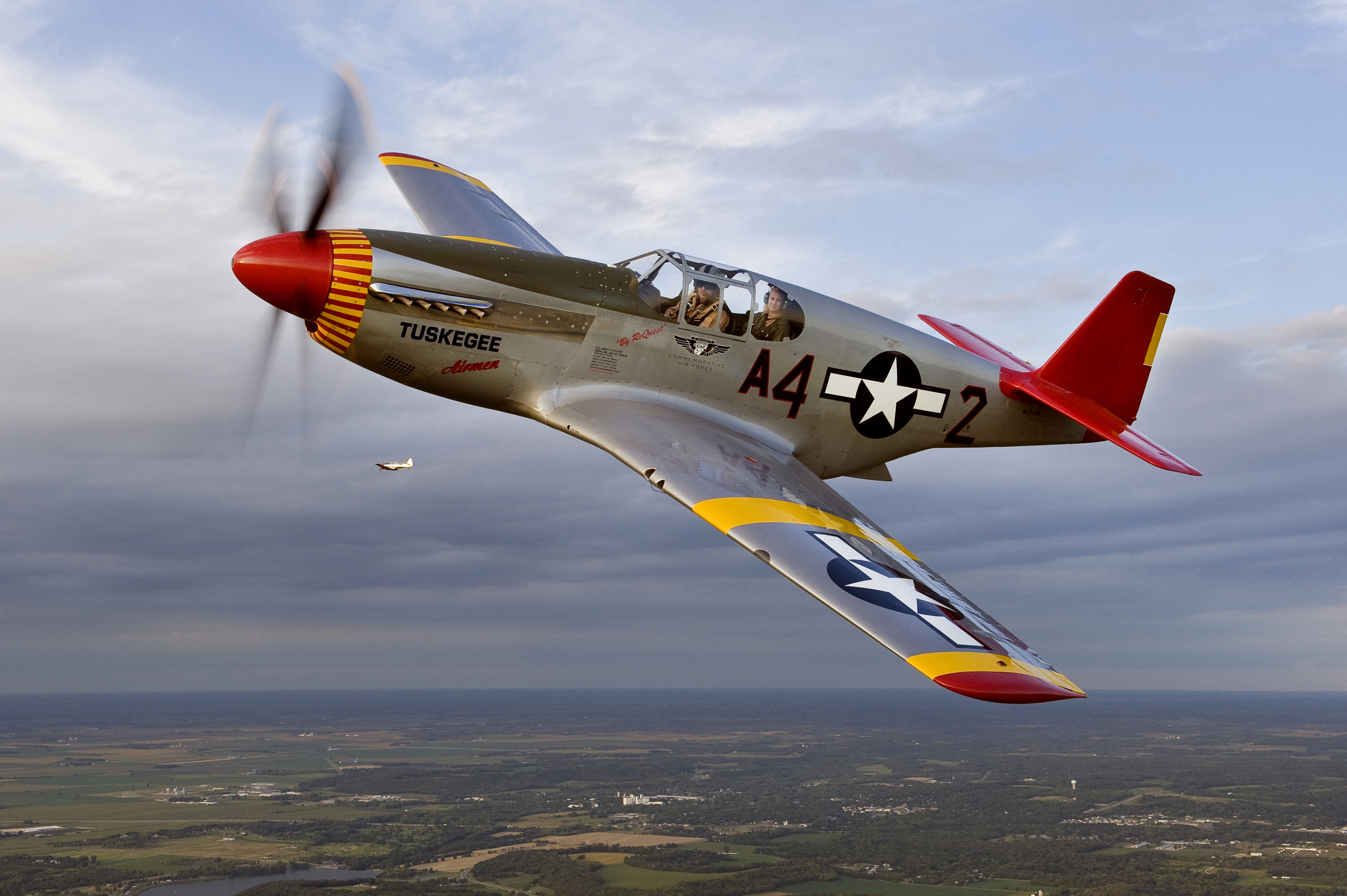 Commemorative Air Force Red Tail Squadron's P-51C Mustang