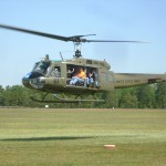 Our UH-1H Huey 624 gives a ride to 10 thrilled passengers.