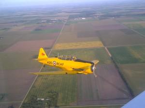 Texas Flying Legends Museum - Harvard T-6