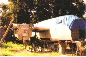 Panchito before restoration
