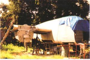 Panchito before restoration