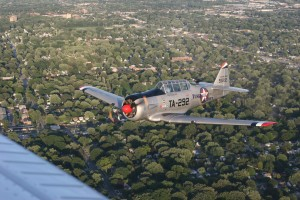 Tuskegee Airmen National Museum's North American T-6G (Piloted by Brian R. Smith)