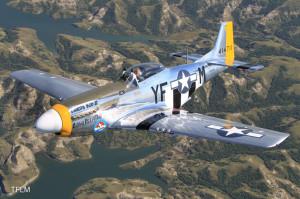 Texas Flying Legends Museum P-51D Dakota Kid II