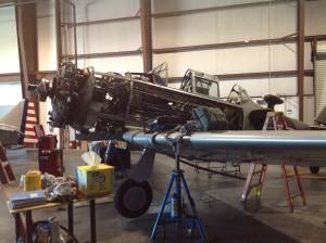 Major annual maintenance at Stallion 51 Maintenance Hanger