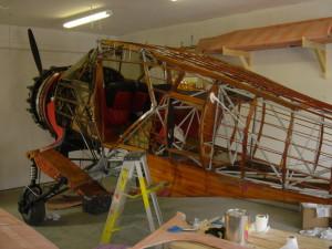 fuselage bare
