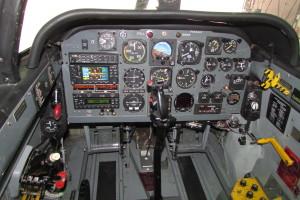 N34AF Front Cockpit