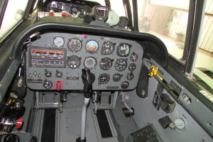N34AF rear cockpit