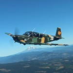 Formation Training over Hood River, Oregon Photo By: Mary Kasprzyk
