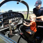 Inspiring the next generation at Simsbury, CT Fly-in